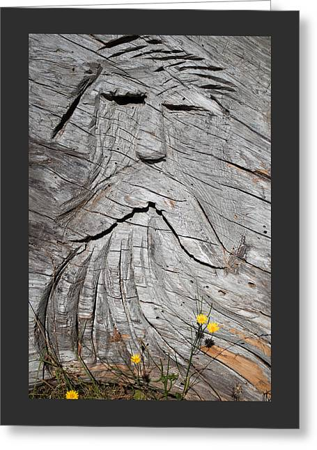 Best Sellers -  - Wooden Sculpture Greeting Cards - Rip Van Winkle Greeting Card by Roger Reeves  and Terrie Heslop