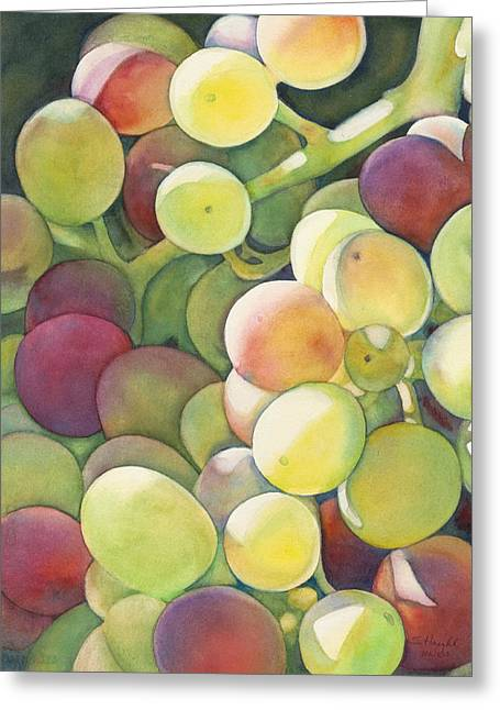 Ripening Greeting Card by Sandy Haight