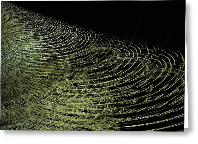 Cause And Effect Greeting Cards - Ripples Greeting Card by Doug Morgan