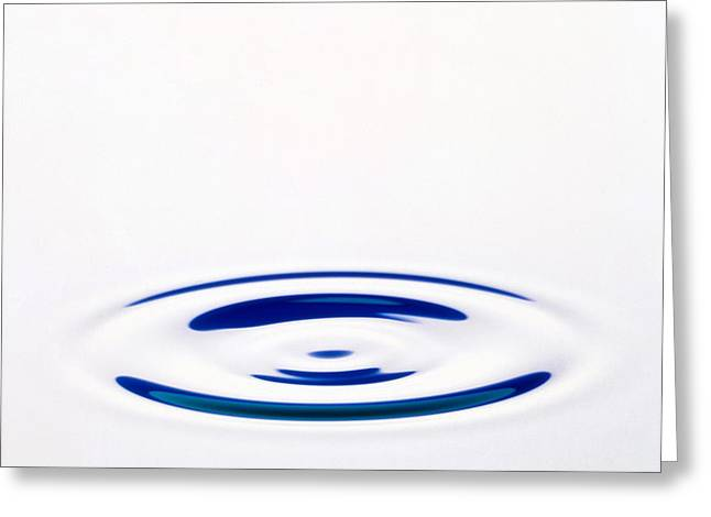 Ripples Greeting Card by Erich Schrempp