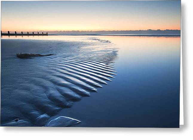 Shadow Effect Greeting Cards - Ripples Greeting Card by Matthew Gibson