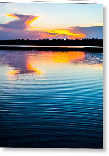 Florida House Greeting Cards - Ripples Of Time Greeting Card by Parker Cunningham