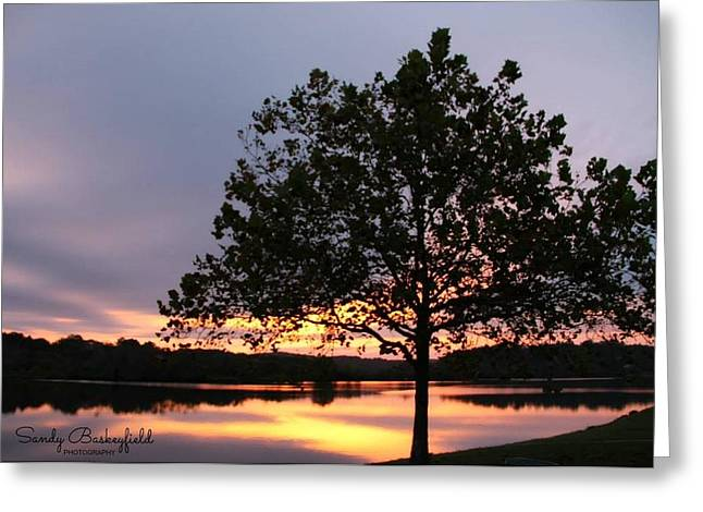 Tennessee Landmark Greeting Cards - Rise and Shine Greeting Card by Sandy Baskeyfield