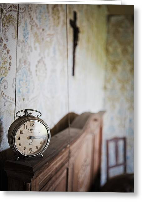 Abandoned Places Greeting Cards - Rise and shine time to get up abandoned places Greeting Card by Dirk Ercken
