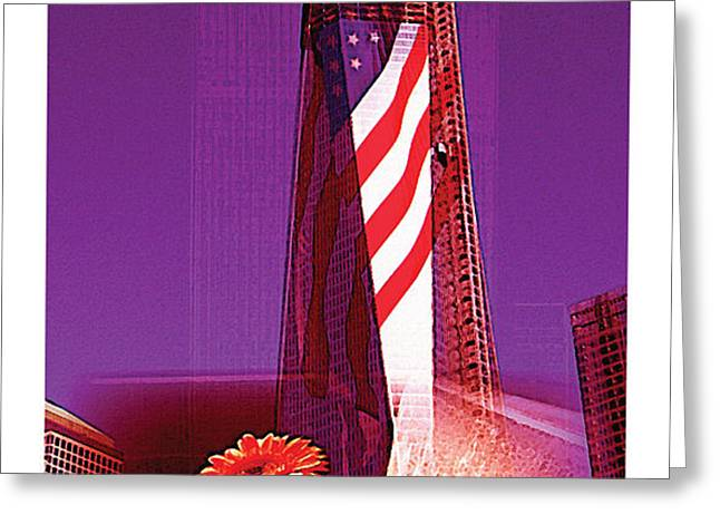 Rise of Freedom 2012 Greeting Card by Kenneth De Tore