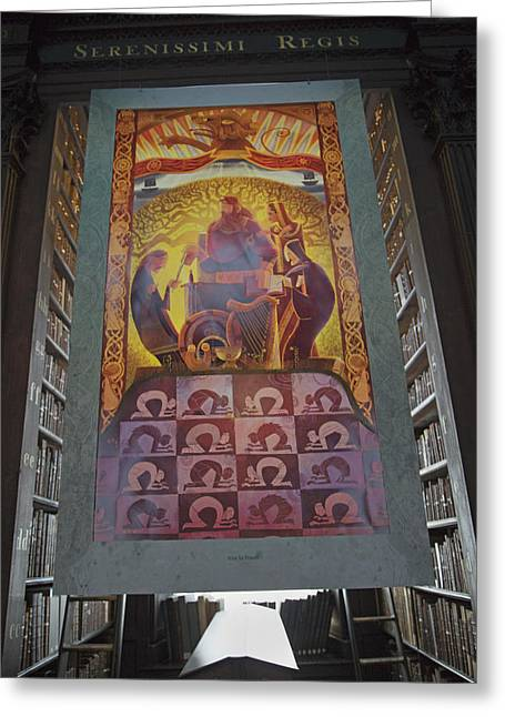 Mediate Greeting Cards - Rise to Power Greeting Card by Betsy C  Knapp