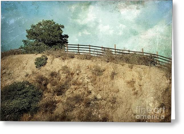 Peak One Greeting Cards - Rising Above Greeting Card by Ellen Cotton