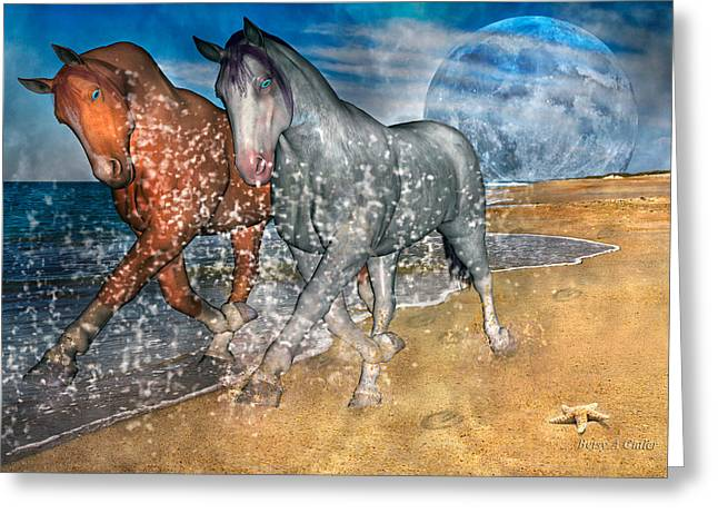 Duo Greeting Cards - Rising Inspiration  Greeting Card by Betsy C  Knapp