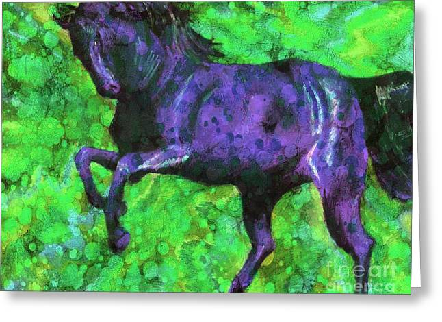 White Tail Pastels Greeting Cards - Rising Storm XIII Greeting Card by J M Lister