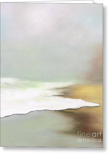 Fog Pastels Greeting Cards - Rising Tides Greeting Card by Frances Marino