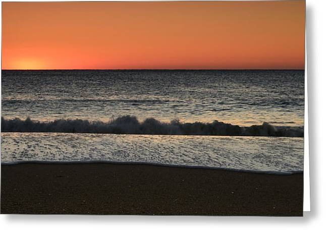 Rising To The Occasion - Jersey Shore Greeting Card by Angie Tirado