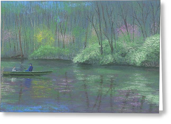 Spring Pastels Greeting Cards - Rite of Spring Greeting Card by Garry McMichael