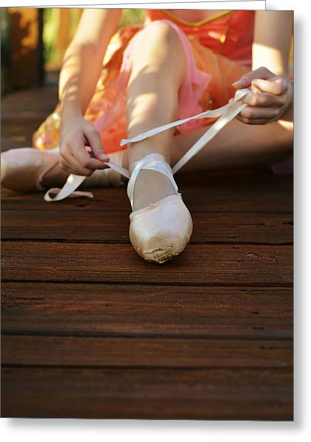En Pointe Greeting Cards - Rituals Greeting Card by Laura  Fasulo