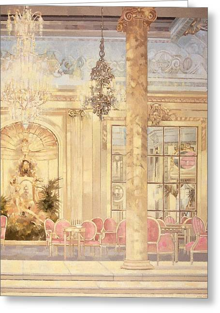 Afternoon Tea Greeting Cards - Ritz 2 Greeting Card by Peter Miller