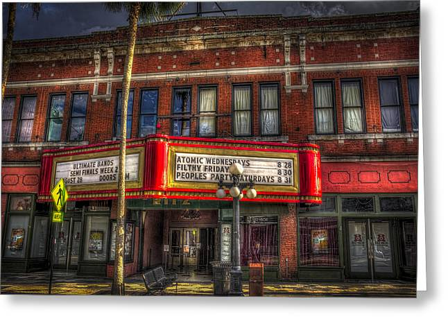 7th Greeting Cards - Ritz Ybor theater Greeting Card by Marvin Spates