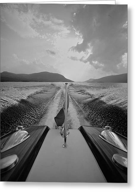 Riva Greeting Cards - Riva Hudson River Greeting Card by Steven Lapkin