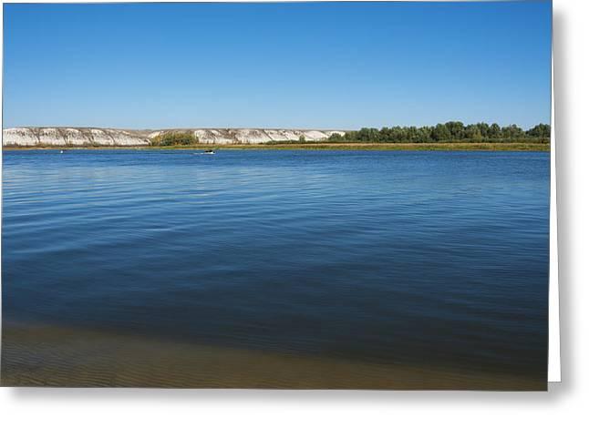 River Don Greeting Card by Svetlana Sewell