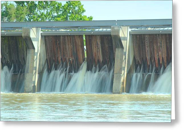 River Flooding Greeting Cards - River Flooding Greeting Card by John Wilchek