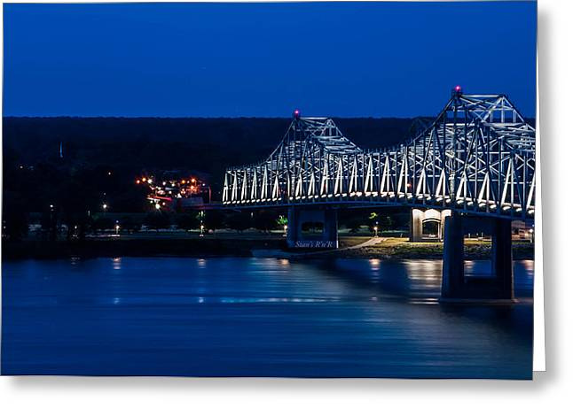 River Front Greeting Card by Stan  Smith
