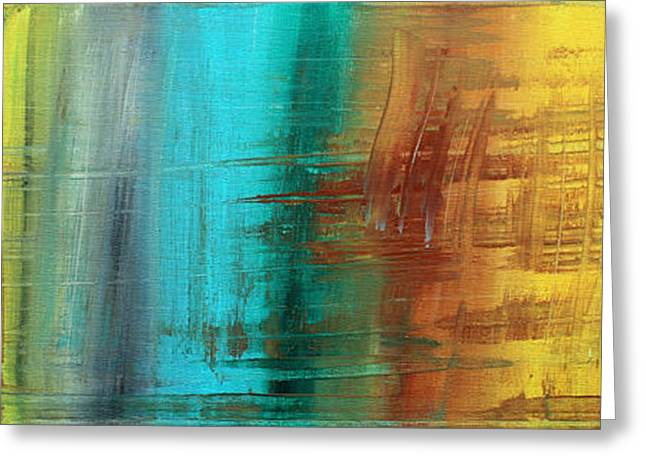 Decorate Greeting Cards - River of Desire 21 by MADART Greeting Card by Megan Duncanson