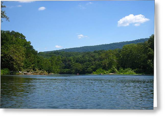 Outdoor Greeting Cards - River Tubing - 12128 Greeting Card by DC Photographer
