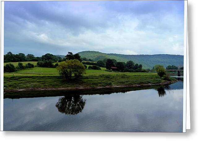 Read Images Greeting Cards - River Wye at Tintern Greeting Card by Andrew Read