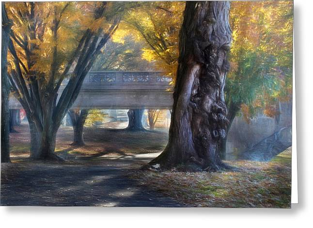 """""""riverfront Park"""" Greeting Cards - Riverfront Park Greeting Card by Lori Deiter"""