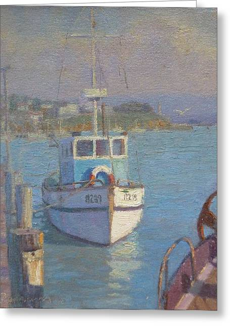 Riverton Nz. Greeting Card by Terry Perham
