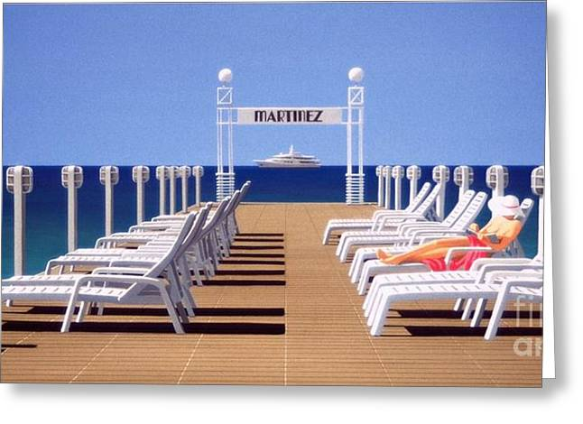 Michael Swanson Greeting Cards - Riviera Dreaming Greeting Card by Michael Swanson