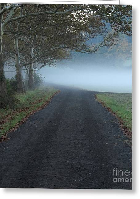 Randy Greeting Cards - Road Closed Greeting Card by Randy Jackson