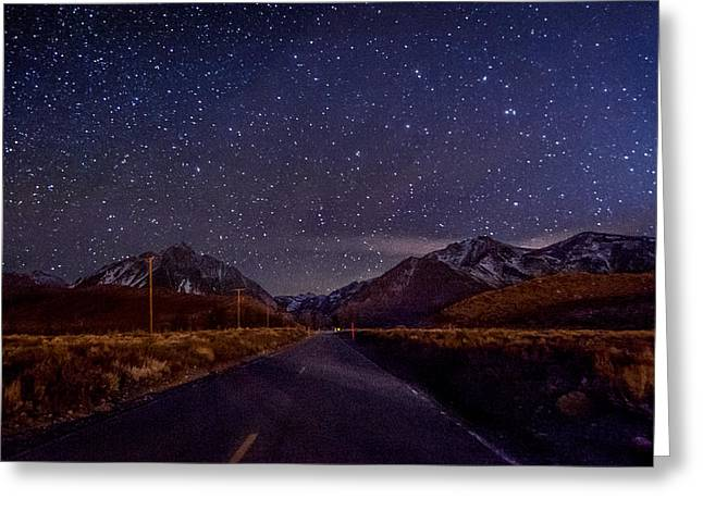 Road Travel Greeting Cards - Road to Convict Lake Greeting Card by Cat Connor