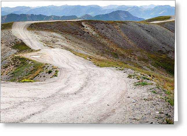 Steven Boone Greeting Cards - Road To Eternity Greeting Card by Steven Boone