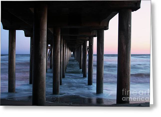 Best Sellers -  - Surf City Greeting Cards - Road to Heaven Greeting Card by Mariola Bitner