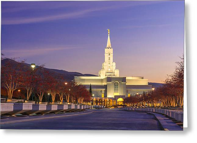 Road To Salvation Greeting Card by Dustin  LeFevre