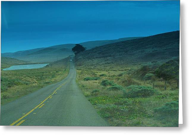 Michelle Greeting Cards - Road to the Lighthouse Greeting Card by Michelle Dallocchio