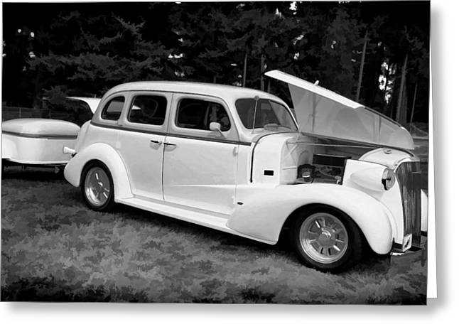 Ron Roberts Photography Greeting Cards - Road Trip Greeting Card by Ron Roberts