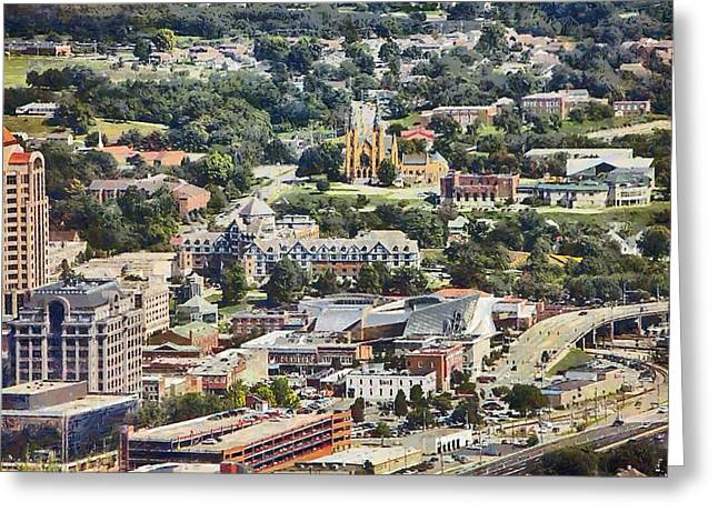 Roanoke Greeting Cards - Roanoke Virginia Greeting Card by Kathy Jennings