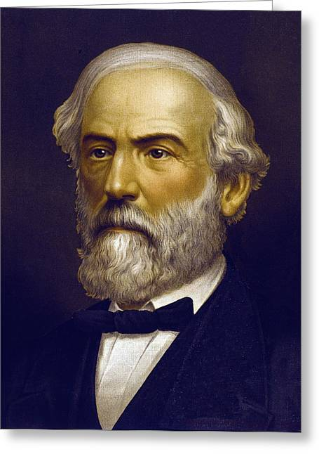 The General Lee Photographs Greeting Cards - Robert E. Lee   1870 Greeting Card by Daniel Hagerman