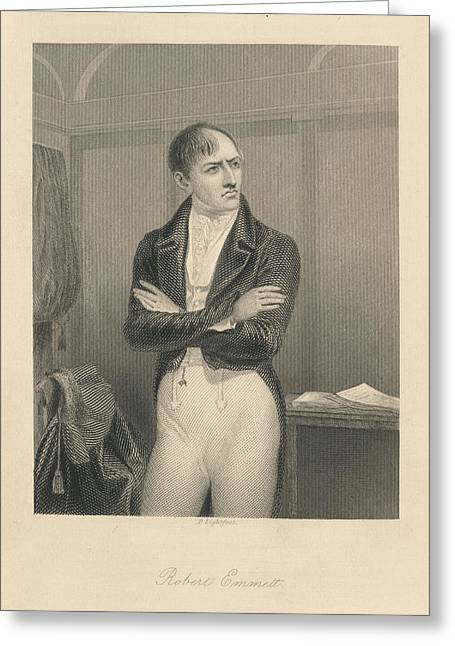 Robert Emmet Greeting Card by British Library