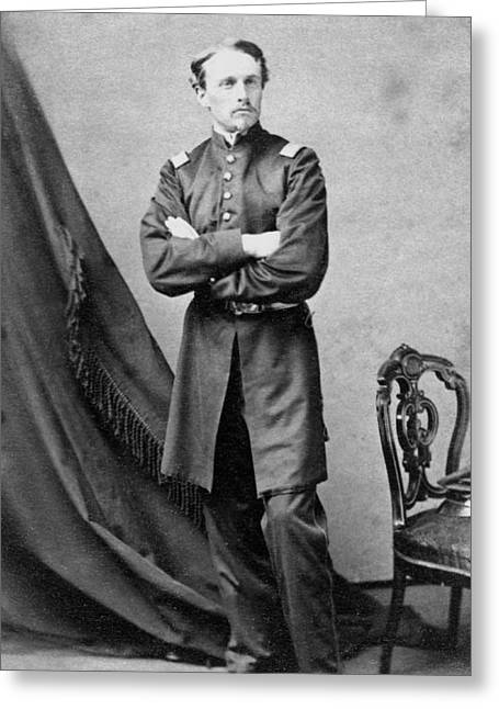 Robert Gould Shaw Greeting Card by War Is Hell Store
