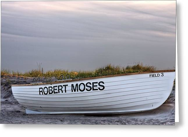 Robert Moses Greeting Cards - Robert Moses Park Greeting Card by JC Findley