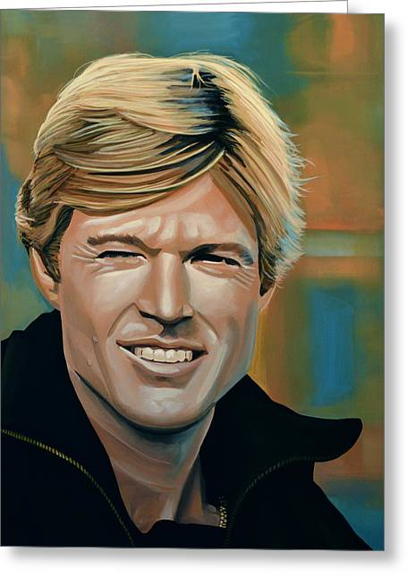 Truth Greeting Cards - Robert Redford Greeting Card by Paul Meijering