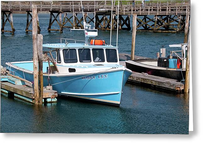 Ocean Art Photos Greeting Cards - Robin Lyn 0220 Greeting Card by Guy Whiteley