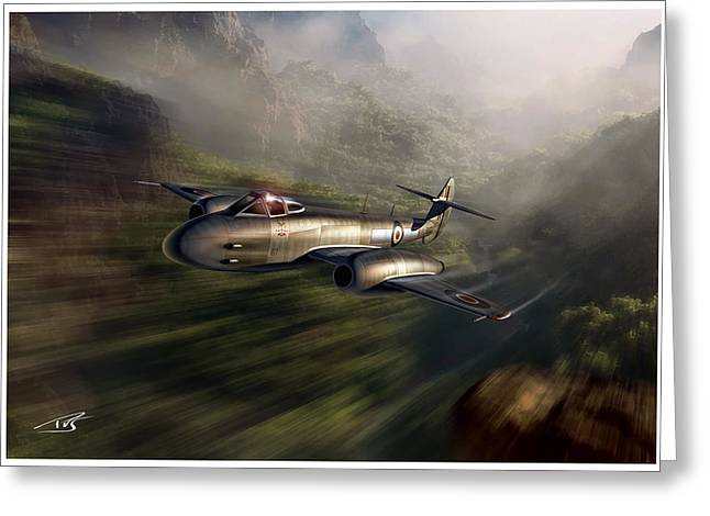 Wwi Greeting Cards - Robin Olds Greeting Card by Peter Van Stigt