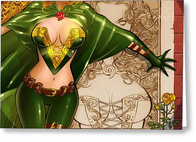 Robyn Hood 03E Greeting Card by Zenescope Entertainment