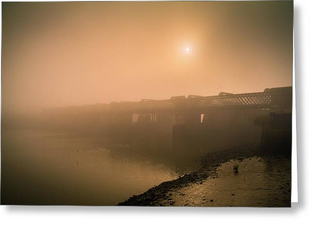 Medway Greeting Cards - Rochester Bridge Greeting Card by Dawn OConnor