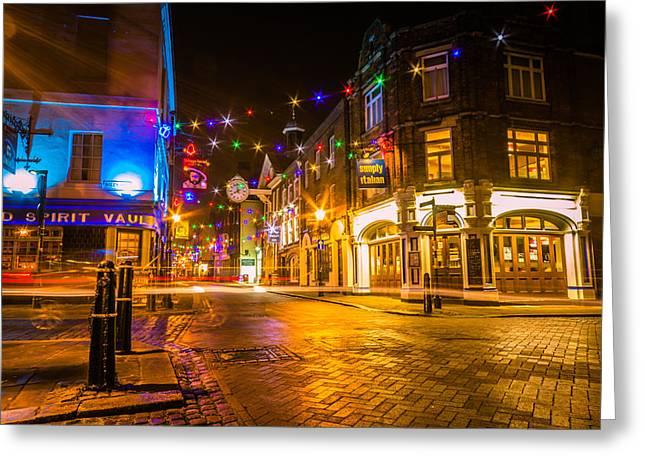 Dawn Oconnor Photographer Greeting Cards - Rochester Christmas Lights Greeting Card by Dawn OConnor