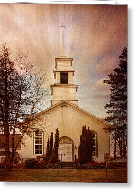 Reform Digital Greeting Cards - Rochester Reformed Church Greeting Card by Pamela Phelps