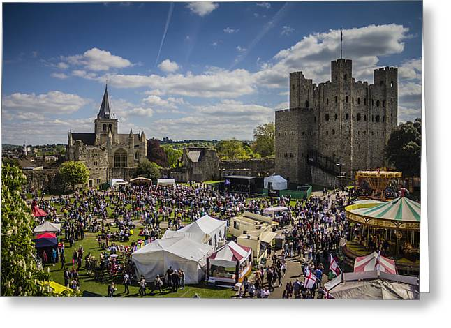 Medway Greeting Cards - Rochester Sweeps Festival Greeting Card by Dawn OConnor