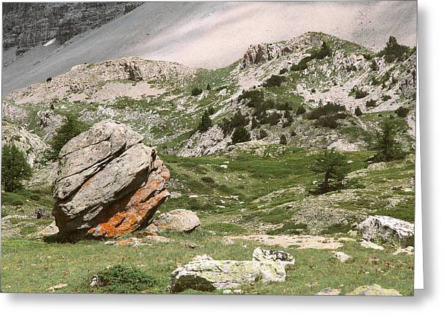 Italian Landscapes Greeting Cards - Rock-a-feller skank .. Greeting Card by A Rey